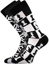 Ponožky Lonka WOODOO mix C - balení 3 páry