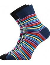 Ponožky Boma - IVANA Mix 44 - balení 3 páry