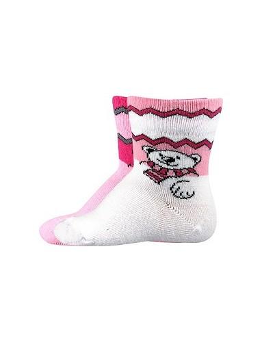 EMINE kojenecké ponožky Boma, mix holka