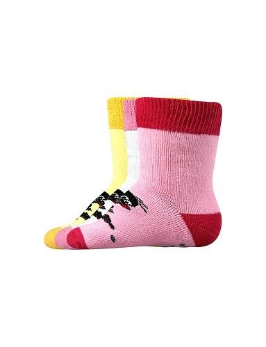 KRTEČEK FROTÉ kojenecké ponožky Mix B