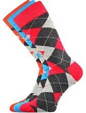 Ponožky Lonka WOODOO mix F - balení 3 páry
