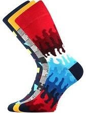 Ponožky Lonka WOODOO mix D - balení 3 páry