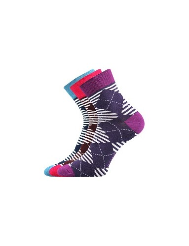 Ponožky Boma - IVANA Mix 45 - balení 3 páry