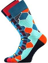 Ponožky Lonka WOODOO mix E - balení 3 páry