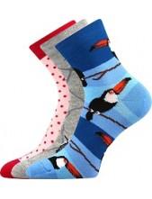 Ponožky Boma Xantipa Mix 41- balení 3 páry v barevném mixu
