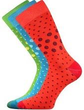 WEAREL 015 společenské ponožky Lonka - balení 3 páry