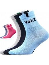 FREDÍK dětské sportovní ponožky VoXX - balení 3 páry v barevném mixu
