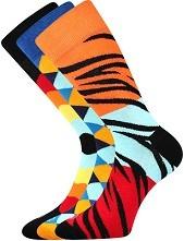 Ponožky Lonka DIMAGE mix B - balení 3 páry