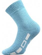 SPACÍ ponožky Boma, světle modrá