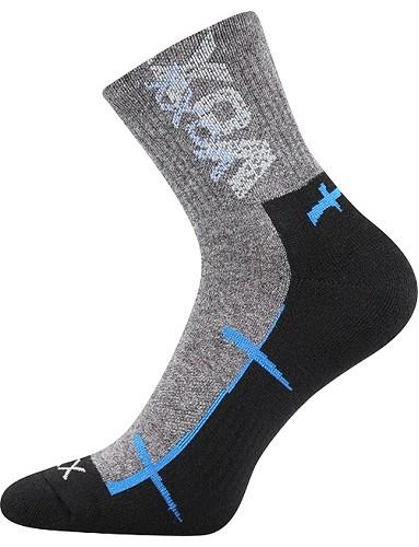 WALLI sportovní ponožky VoXX, černá