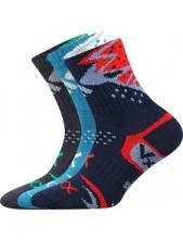 Výprodej vel. 20-22 (30-34) ALKIK dětské sportovní ponožky VoXX - balení 3 páryy