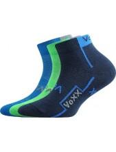 Výprodej vel. 20-22 (30-34) KATOIK dětské sportovní ponožky VoXX - balení 3 páry