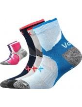 MAXTERIK dětské sportovní ponožky VoXX - balení 3 páry