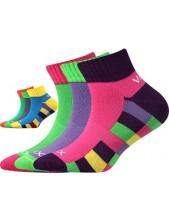 KVADRIK dětské ponožky VoXX - balení 3 páry