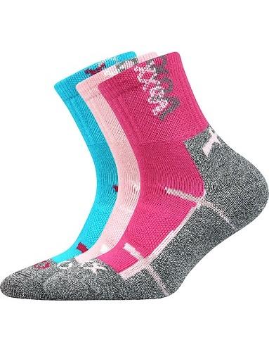 WALLÍK dětské sportovní ponožky VoXX, mix A