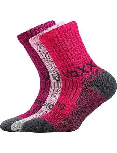 BOMBERIK dětské bambusové ponožky VoXX, mix A