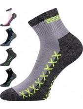 VECTOR sportovní ponožky VoXX - balení 3 páry, i nadměrné velikosti