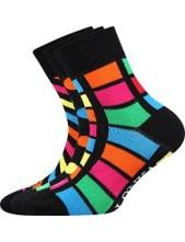 Dětské ponožky Lonka WOODIK mix H - balení 3 páry