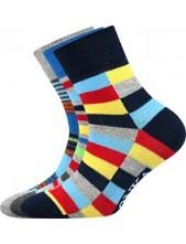 Dětské ponožky Lonka WOODIK mix I - balení 3 páry