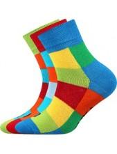 Dětské ponožky Lonka DECUBIK mix A - balení 3 páry