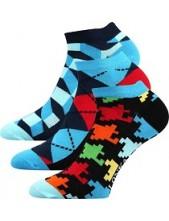 Ponožky Lonka WEEP mix B, balení 3 páry