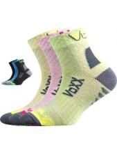 KRYPTOXIK dětské ponožky VoXX - balení 3 různé páry