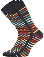 WEAREL 012 společenské ponožky Lonka - balení 3 stejné páry