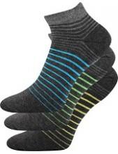 PIKI pánské ponožky Boma Mix 45 - balení 3 páry