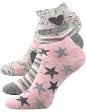 PIKI dámské ponožky Boma Mix 46 - balení 3 páry