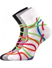 Ponožky Boma IVANA Mix 47 - balení 3 páry