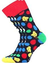 Ponožky Lonka WOODOO mix M - balení 3 stejné páry