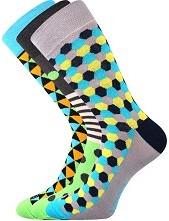 Ponožky Lonka WOODOO mix J - balení 3 páry
