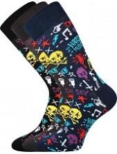 Ponožky Lonka WOODOO mix K - balení 3 páry