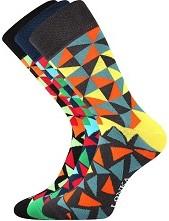Ponožky Lonka WOODOO mix L - balení 3 páry