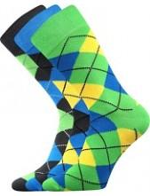 WEAREL 005 společenské ponožky Lonka, balení 3 páry