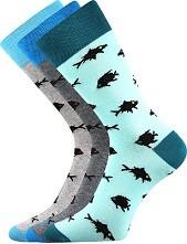 WEAREL 010 společenské ponožky Lonka - balení 3 páry