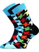 Ponožky Lonka WOODOO mix B - balení 3 páry
