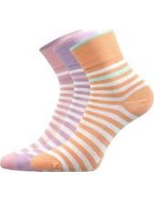 Ponožky Lonka ESYLE mix A, fialová