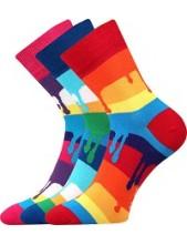 Ponožky Boma JANA Mix 36 - balení 3 páry