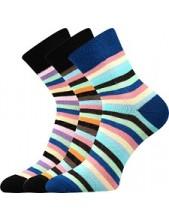 Ponožky Boma - IVANA Mix 42 - balení 3 páry
