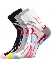 Ponožky Boma - IVANA Mix 40 - balení 3 páry