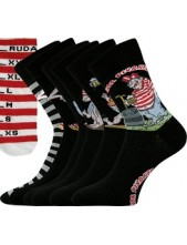 Ponožky Boma RUDA PIVRNEC