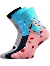 Ponožky Boma Xantipa Mix 40 - balení 3 páry