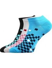 Ponožky Boma PIKI dámské Mix 41 - balení 3 páry