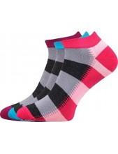 PIKI dámské ponožky Boma Mix 43A - balení 3 páry