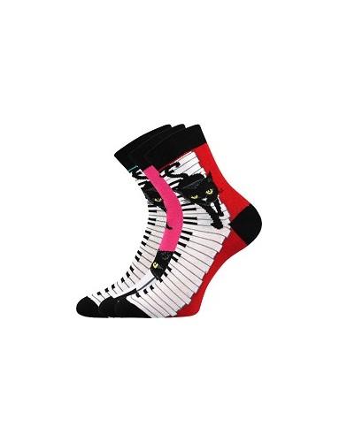 Ponožky Boma Xantipa Mix 48- balení 3 páry v barevném mixu