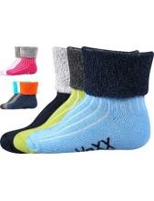 LUNIK kojenecké ponožky VoXX - balení 3 páry