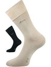 DESILVE společenské ponožky Lonka - balení 3 páry