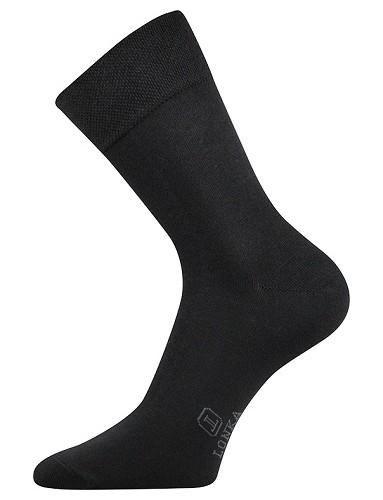 DASILVER společenské ponožky Lonka, černá