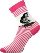 Výprodej vel. 23-25 Dětské ponožky Boma KRTEK